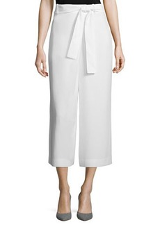 Lafayette 148 New York Eldridge Cropped Crepe Pants