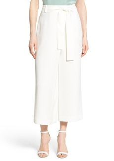 Lafayette 148 New York 'Eldrige' Crop Wide Leg Pants