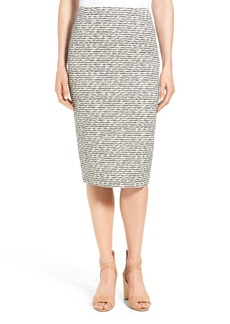 Lafayette 148 New York 'Foray Weave' Modern Slim Pencil Skirt
