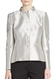 Lafayette 148 New York Frida Satin Jacket