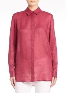 Lafayette 148 New York Gemma Cloth Tierney Blouse