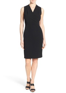 Lafayette 148 New York 'Graceton' Keyhole Back Sleeveless Sheath Dress