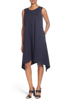 Lafayette 148 New York Handkerchief Hem Tank Dress