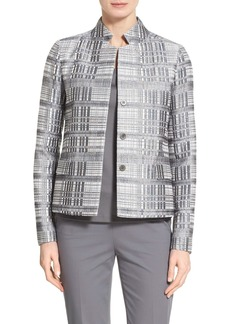 Lafayette 148 New York 'Hollis - Carlyle Plaid' Jacket
