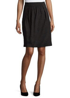 Lafayette 148 New York Janice Pleated-Front Skirt