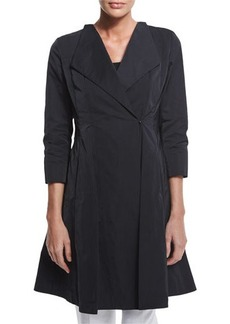 Lafayette 148 New York Judith Fit & Flare Topper Coat