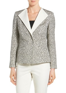 Lafayette 148 New York 'Juliet' Foldover Lapel Jacket