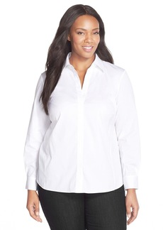Lafayette 148 New York 'Katie' Blouse (Plus Size)