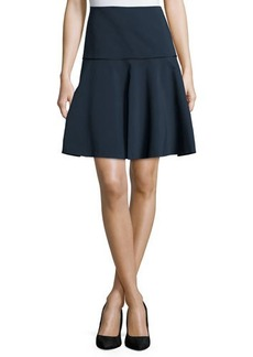Lafayette 148 New York Keana Drop-Waist Fit-and-Flare Skirt