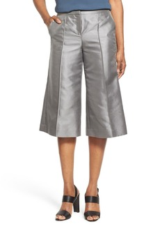Lafayette 148 New York 'Kenmare' Shantung Culottes