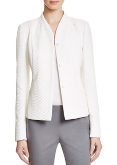 Lafayette 148 New York Kensley Basket Weave Jacket