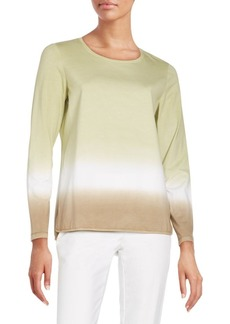 Lafayette 148 New York Knit Crewneck Top