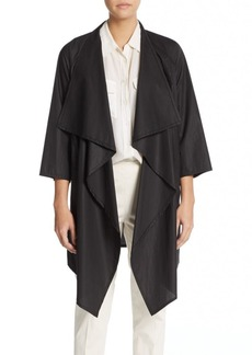 Lafayette 148 New York Laza Draped Cotton Jacket