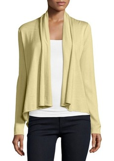 Lafayette 148 New York Long-Sleeve Open-Front Cardigan