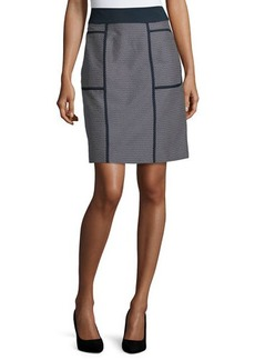 Lafayette 148 New York Madeline Narrow A-Line Skirt