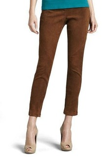 Lafayette 148 New York Magic Slim Suede Pants