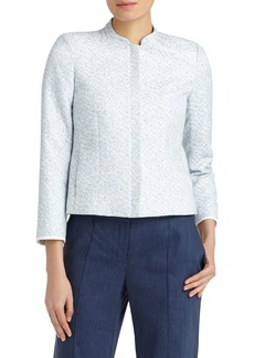Lafayette 148 New York 'Marcy' Stand Collar Jacket