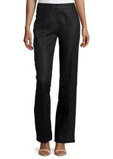Lafayette 148 New York Menswear Linen Twill Trousers