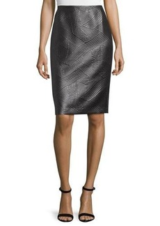 Lafayette 148 New York Modern Slim-Fit Skirt
