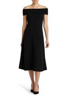 Lafayette 148 New York Off the Shoulder Sweater Dress