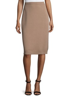 Lafayette 148 New York Ottoman Knit Pencil Skirt