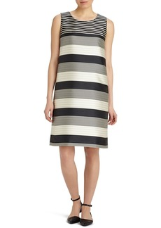 Lafayette 148 New York 'Palmer' Stripe Shift Dress