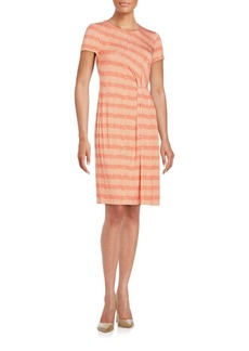 Lafayette 148 New York Printed Knit Dress