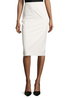 Lafayette 148 New York Priscilla High-Waist Pencil Skirt