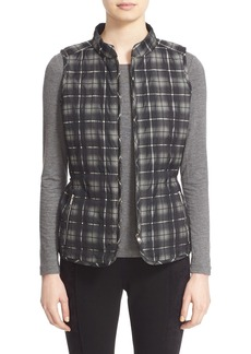Lafayette 148 New York Reversible Quilted Vest (Regular & Petite)