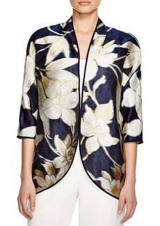 Lafayette 148 New York Shayla Floral Print Jacket