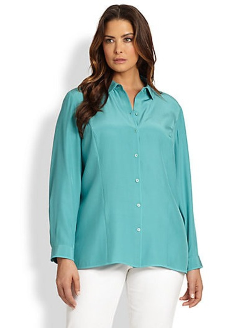 Lafayette 148 New York, Sizes 14-24 Autumn Blouse