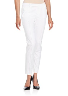 Lafayette 148 New York Slim Stretch-Cotton Pants