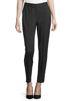 Lafayette 148 New York Slit-Cuff Slim-Leg Pants