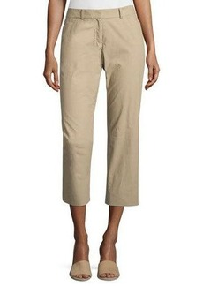 Lafayette 148 New York Straight-Leg Crop Pants