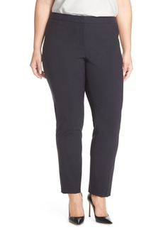 Lafayette 148 New York Stretch Wool Ankle Pants (Plus Size)
