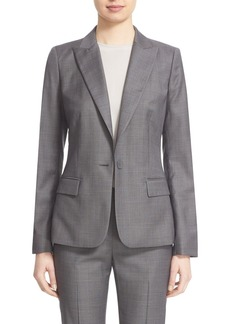 Lafayette 148 New York 'Susan' Modern Fit Suit Blazer