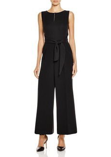 Lafayette 148 New York Takara Wrap Belt Jumpsuit