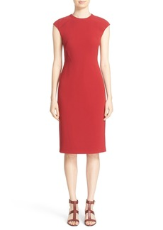 Lafayette 148 New York 'Talon' Finesse Crepe Sheath Dress (Nordstrom Exclusive)