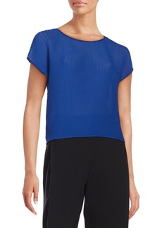 Lafayette 148 New York Textured Knit Top