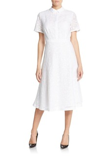 Lafayette 148 New York Theresa Striped Shirtdress