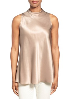 Lafayette 148 New York 'Tyson' Sleeveless Silk Blouse