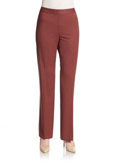 Lafayette 148 New York Virgin Wool Trousers