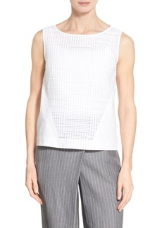 Lafayette 148 New York 'Weslyn - Cambria Weave' Blouse