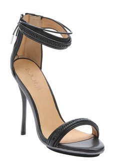 L.A.M.B. black leather 'Kanye' stiletto s...
