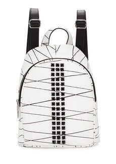 L.A.M.B. Jessa Studded Leather Backpack