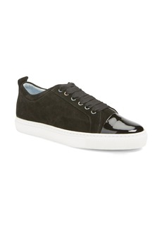 Lanvin Cap Toe Low Top Sneaker (Women)