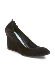 Lanvin Scrunch Wedge Pump (Women)