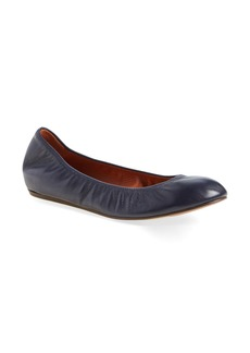 Lanvin Smooth Leather Ballet Flat (Women)
