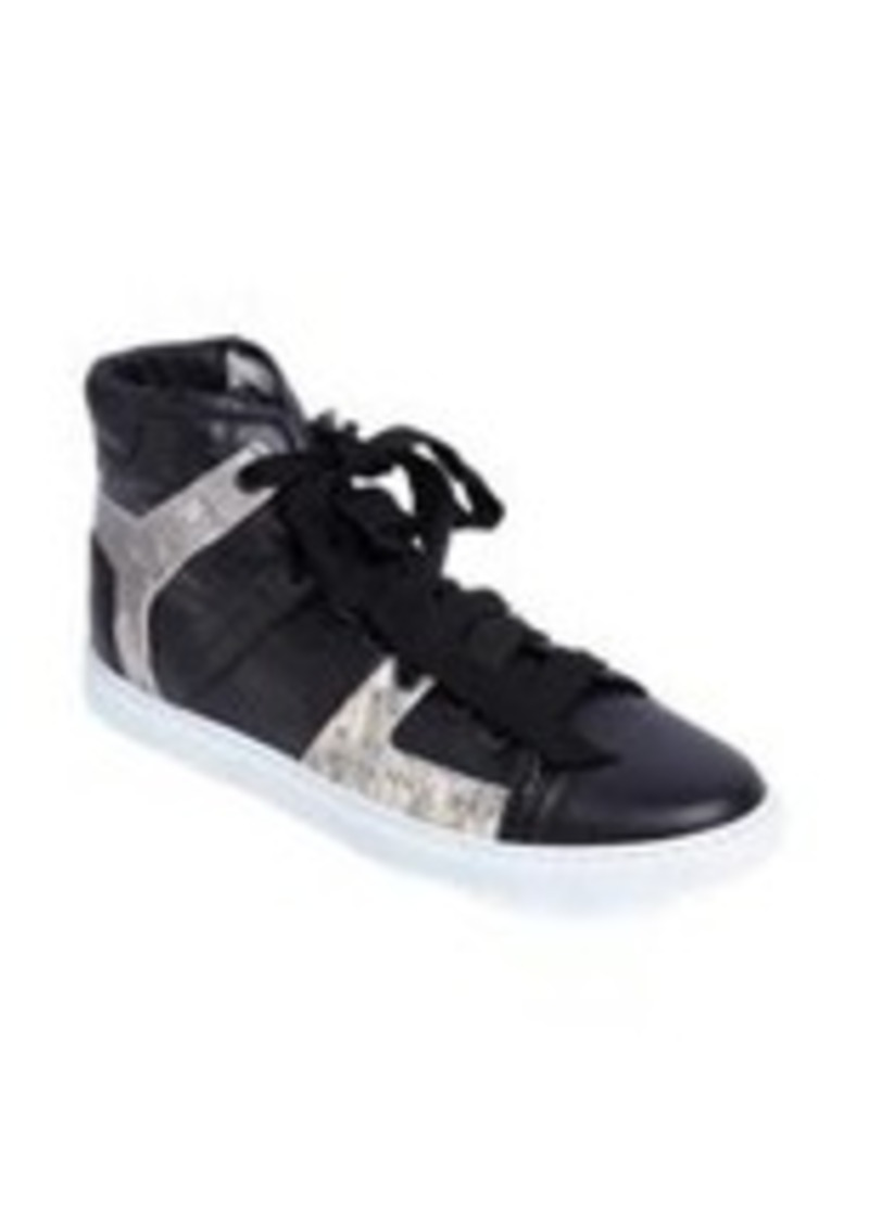 Lanvin Tejus-Effect High-Top