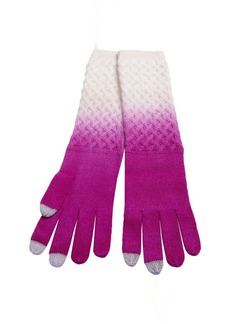 Laundry by Design Dip-Dye Wool Gloves - Touchscreen Compatible (For Women)